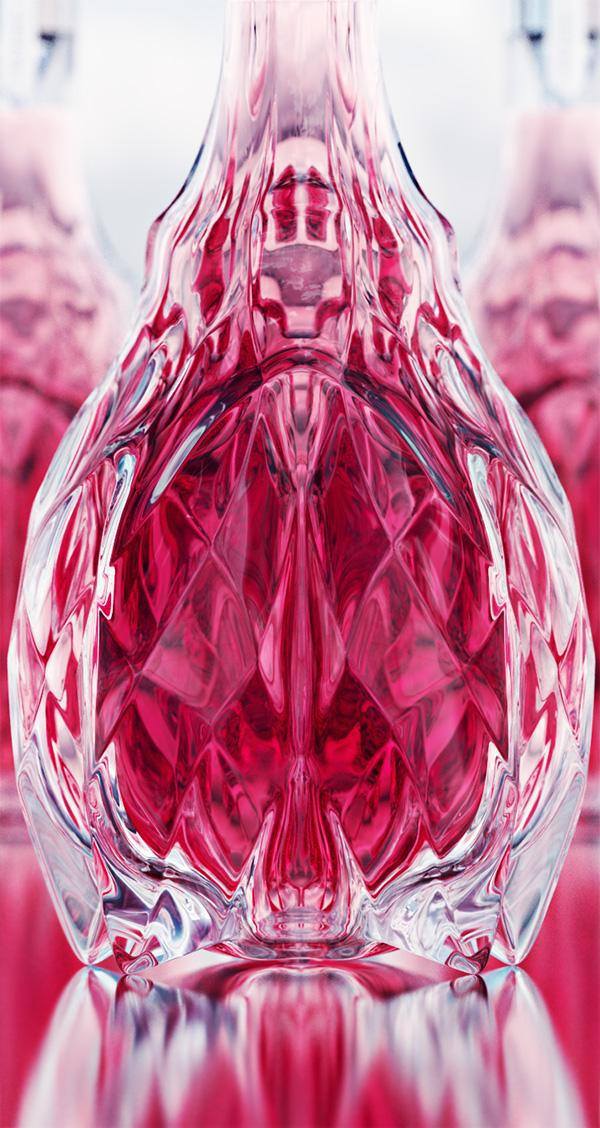 luxury crystal wine decanter 9