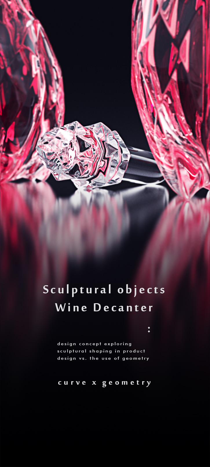 luxury crystal wine decanter 1