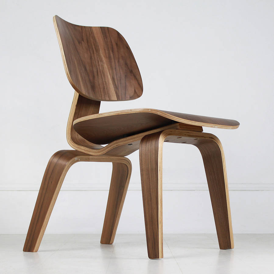 Eames Lounge Chair Wood (Eames LCW)
