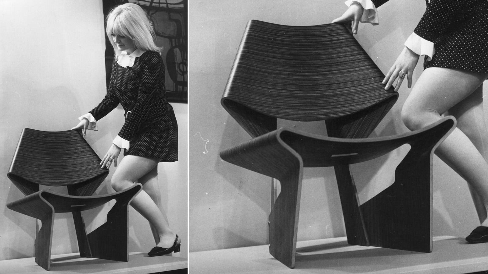 The GJ chair at the Victoria and Albert Museum's Danish Design exhibition. Via  Gizmodo