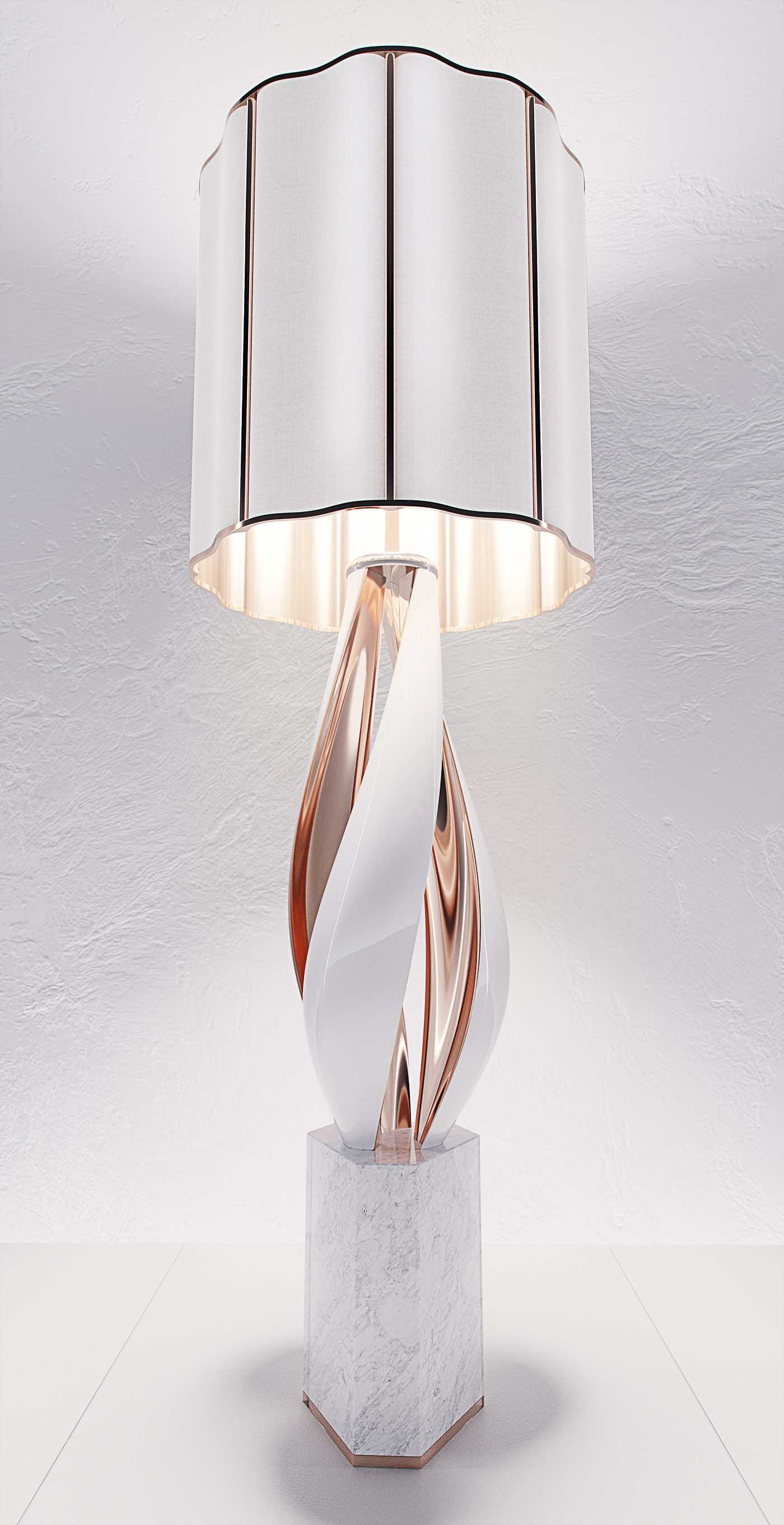 luxury lighting concept, Nightshade Lamp 6