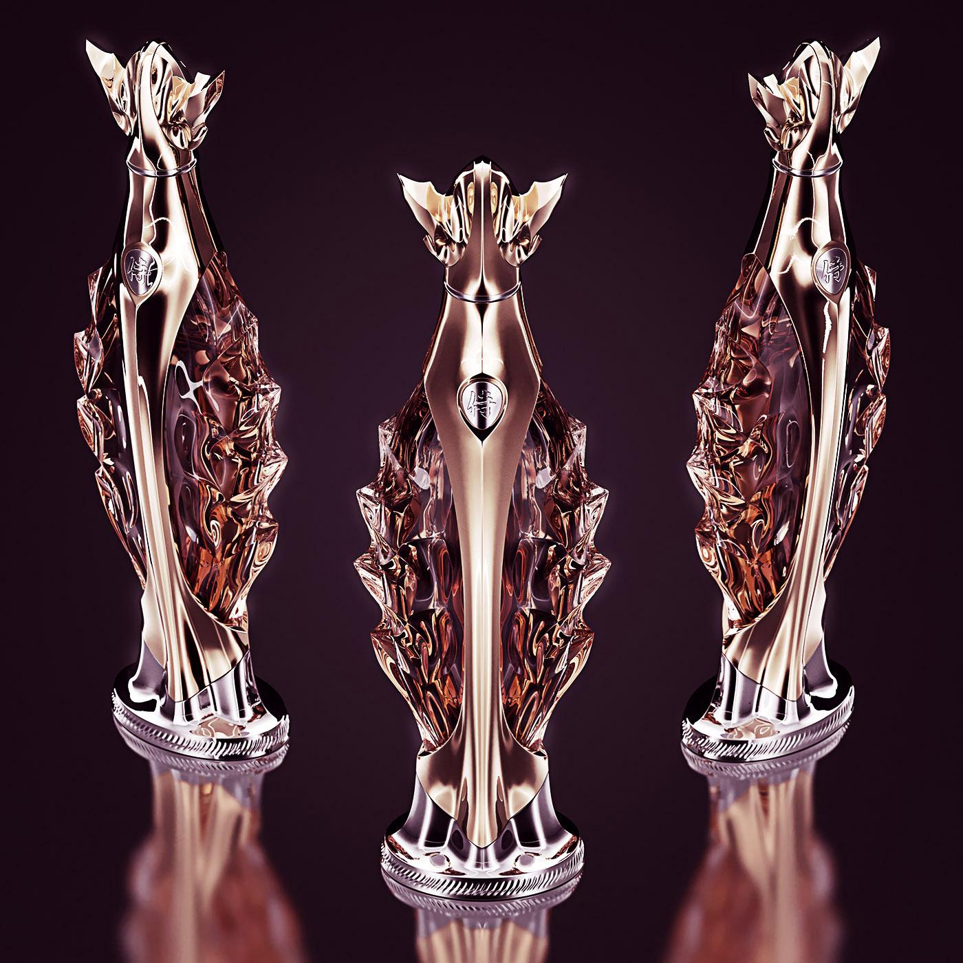 Luxury Whiskey Bottle Concept 3