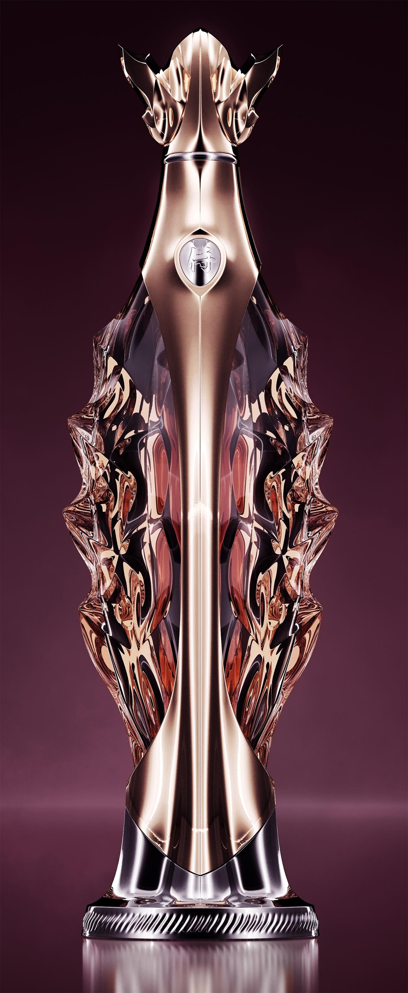 Luxury Whiskey Bottle Concept 6