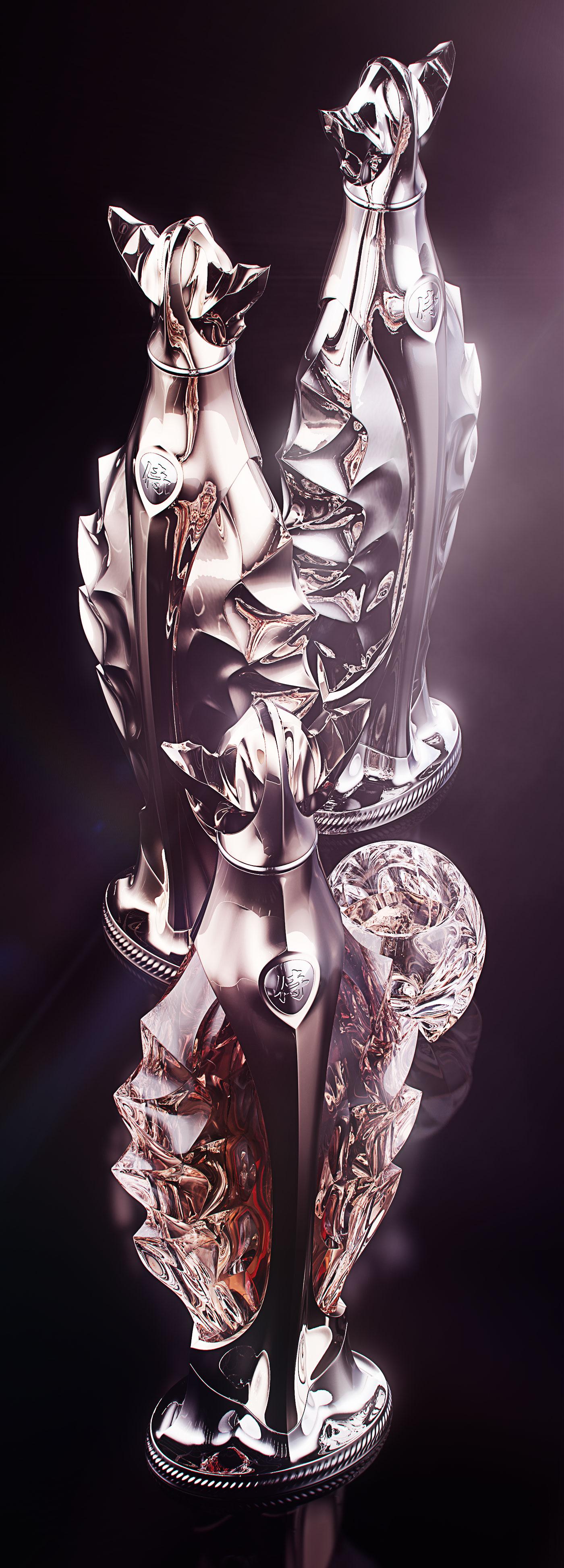 Luxury Whiskey Bottle Concept 8