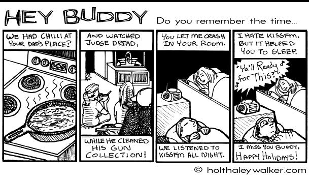 Happy Holidays Buddy!