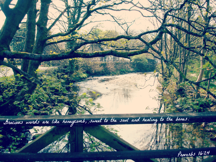 (I snapped this photo in the charming village of Grasmere. It sits right in the heart of the English Lake District in Cumbria, England. 2011.)