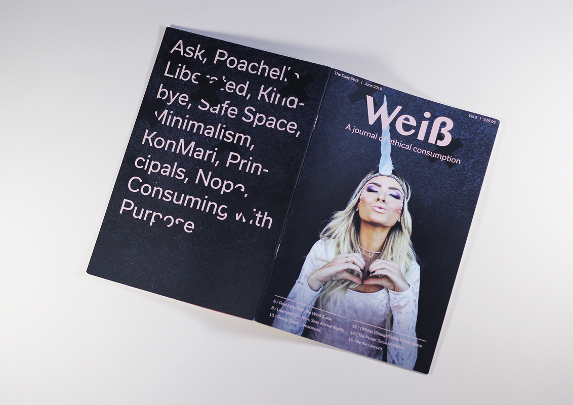 Weiß Magazine: Satire at it's best - A satirical publication that puts a critical lens on the Bay Area art scene.