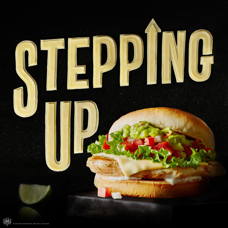 McDonald's cheese danielle evans