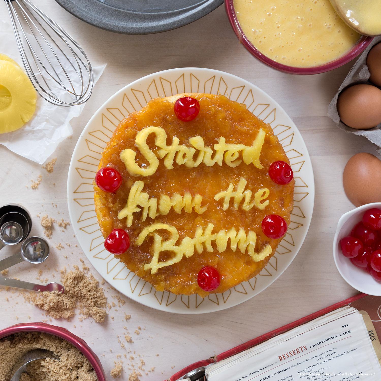 Food Typography + Joy the Baker