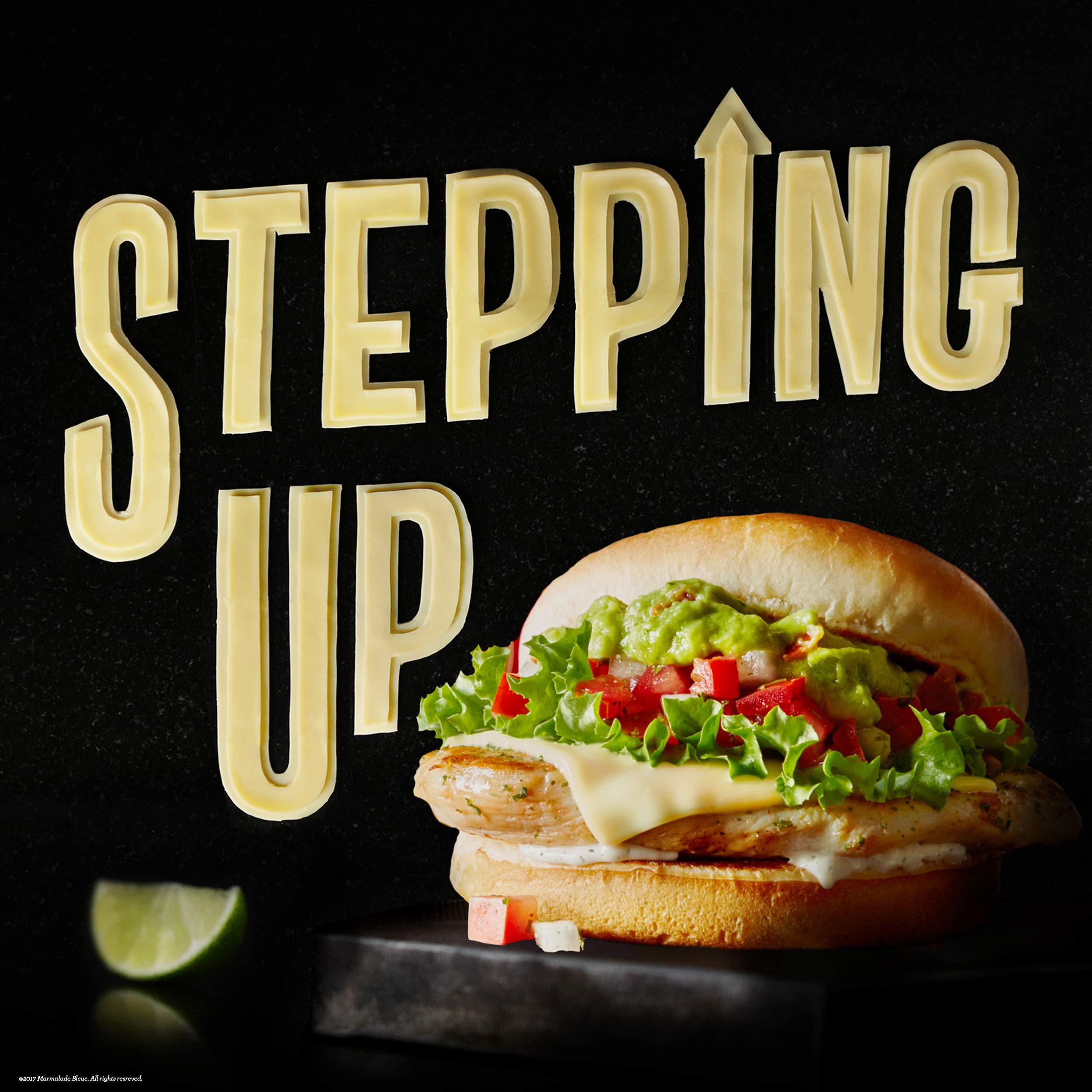 Food Lettering + McDonald's
