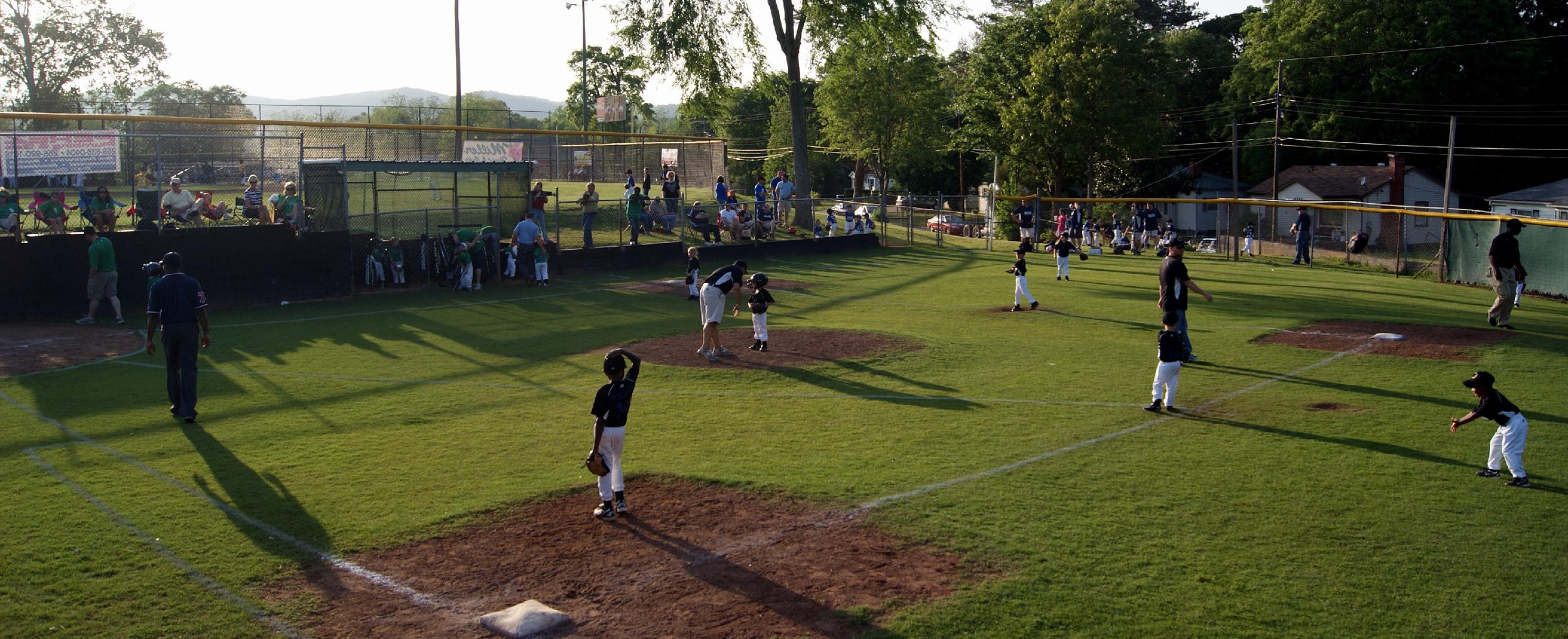 T-ball Game, Oxford Lake