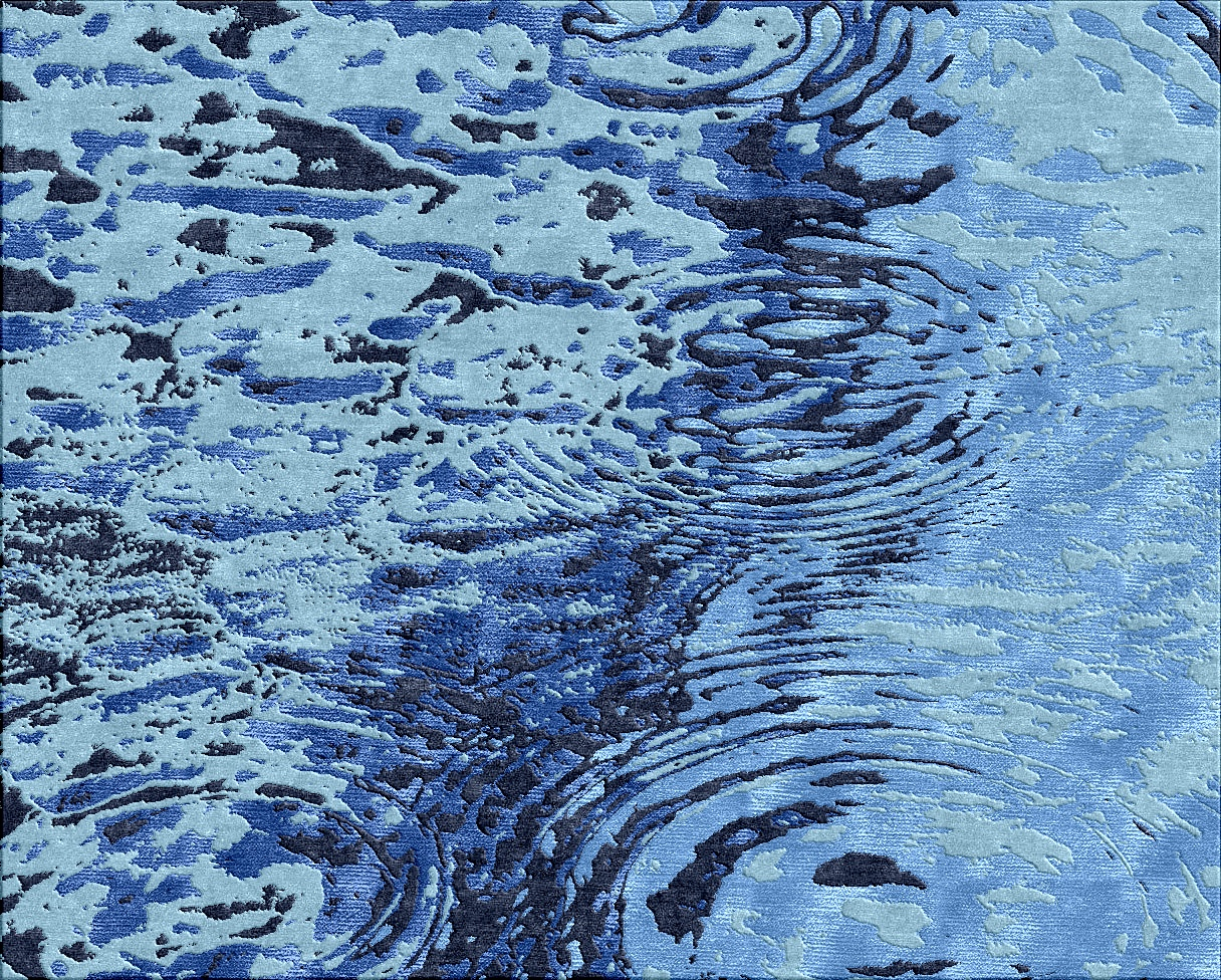 Ripples in Blue