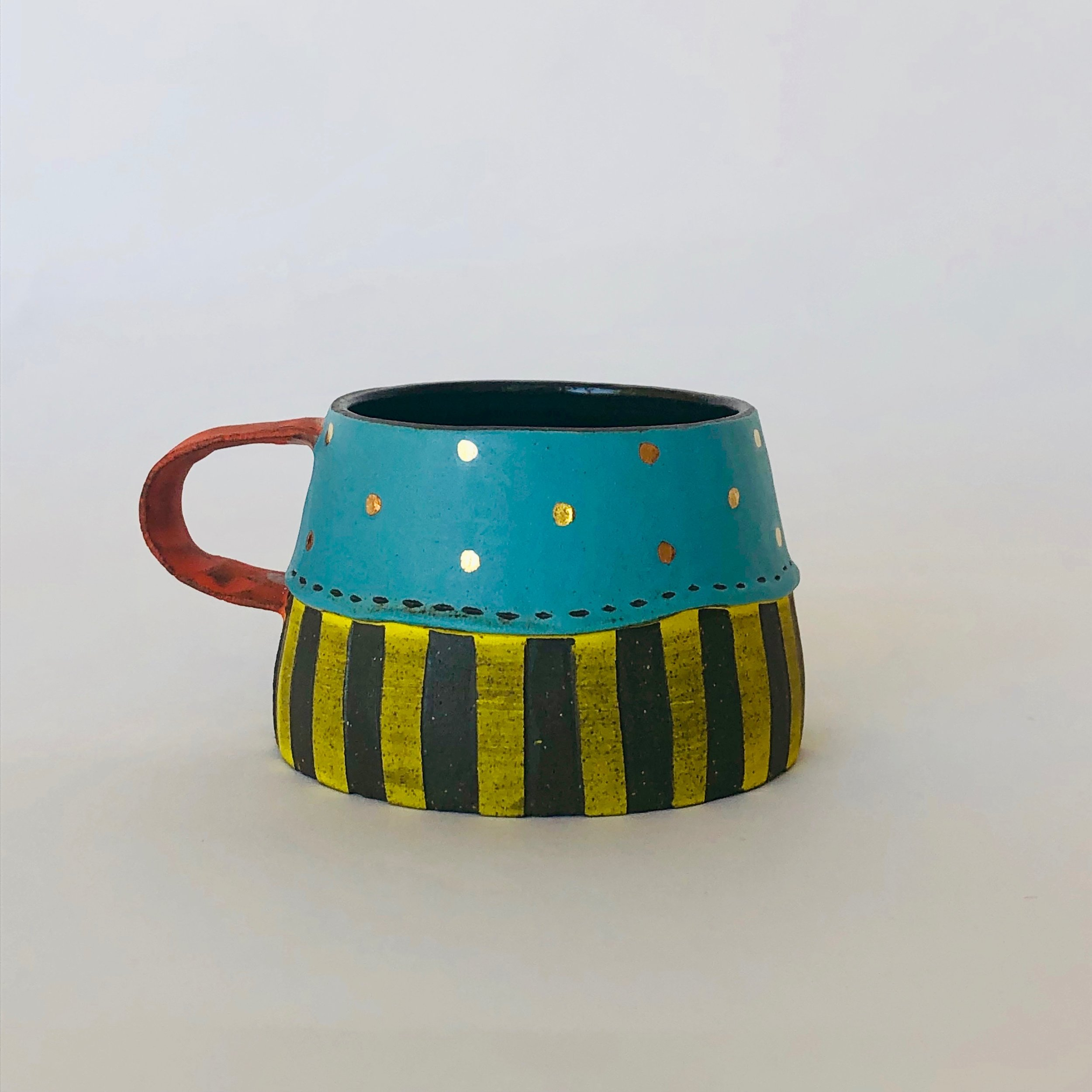 Turquoise Espresso Cup
