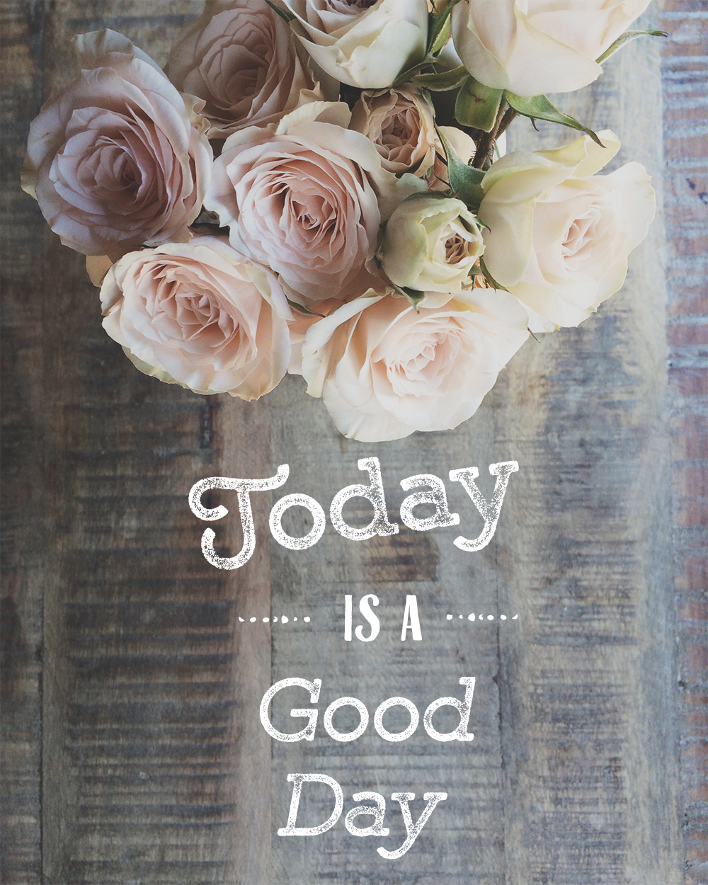 Today is a Good Day - Free Printable by Azzari Jarrett