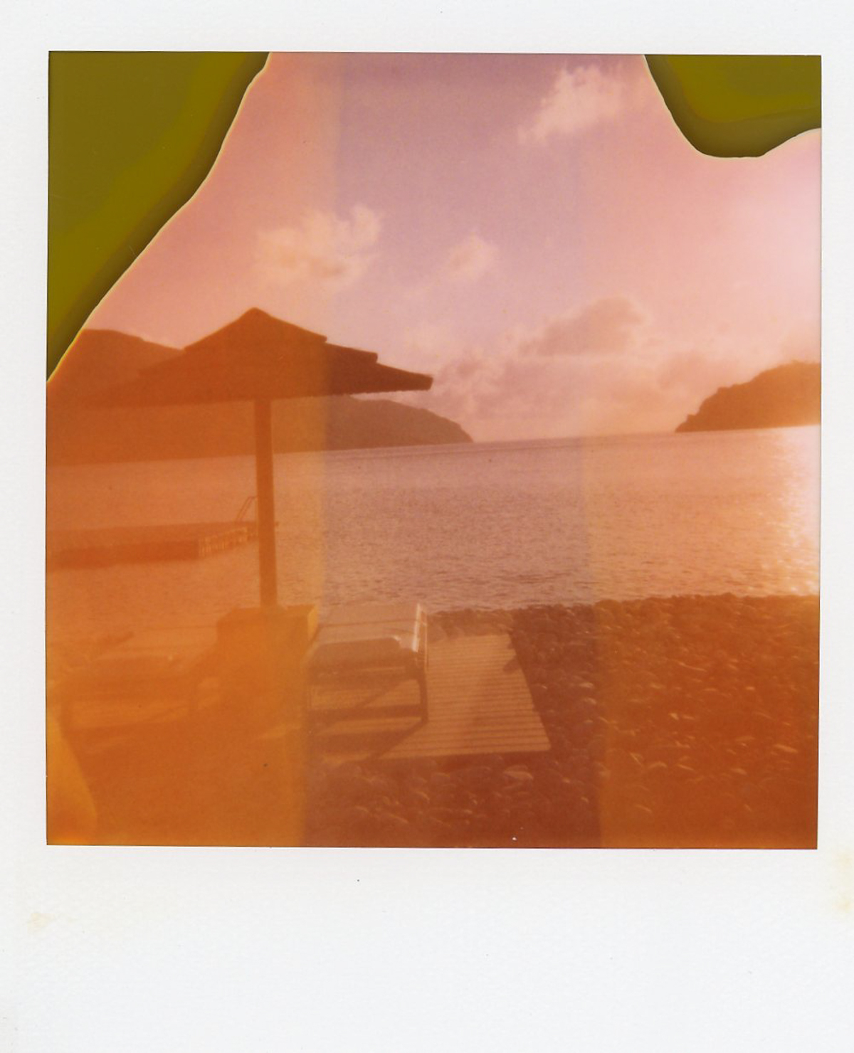 Greece on Expired Polaroid 600 Film | Azzari Jarrett