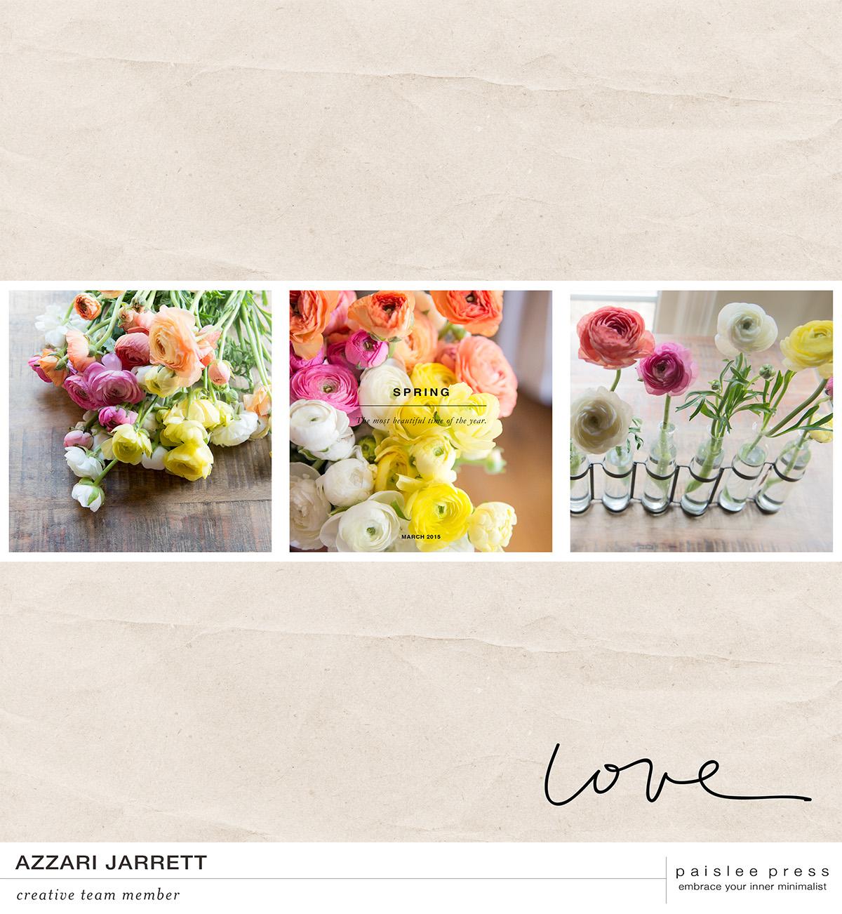 Spring Layout | Azzari Jarrett