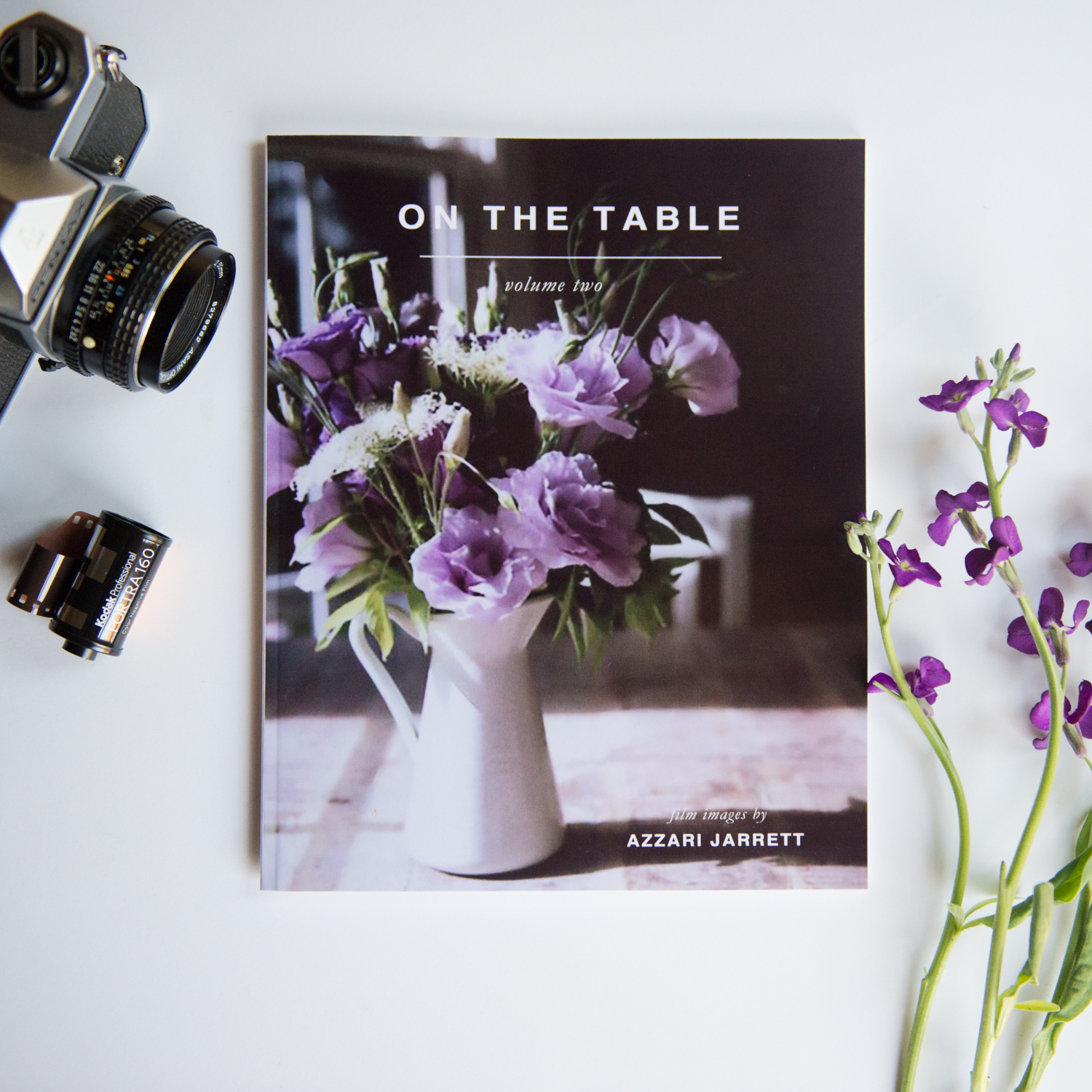 On The Table, Volume 2 - Film photography Book by Azzari Jarrett