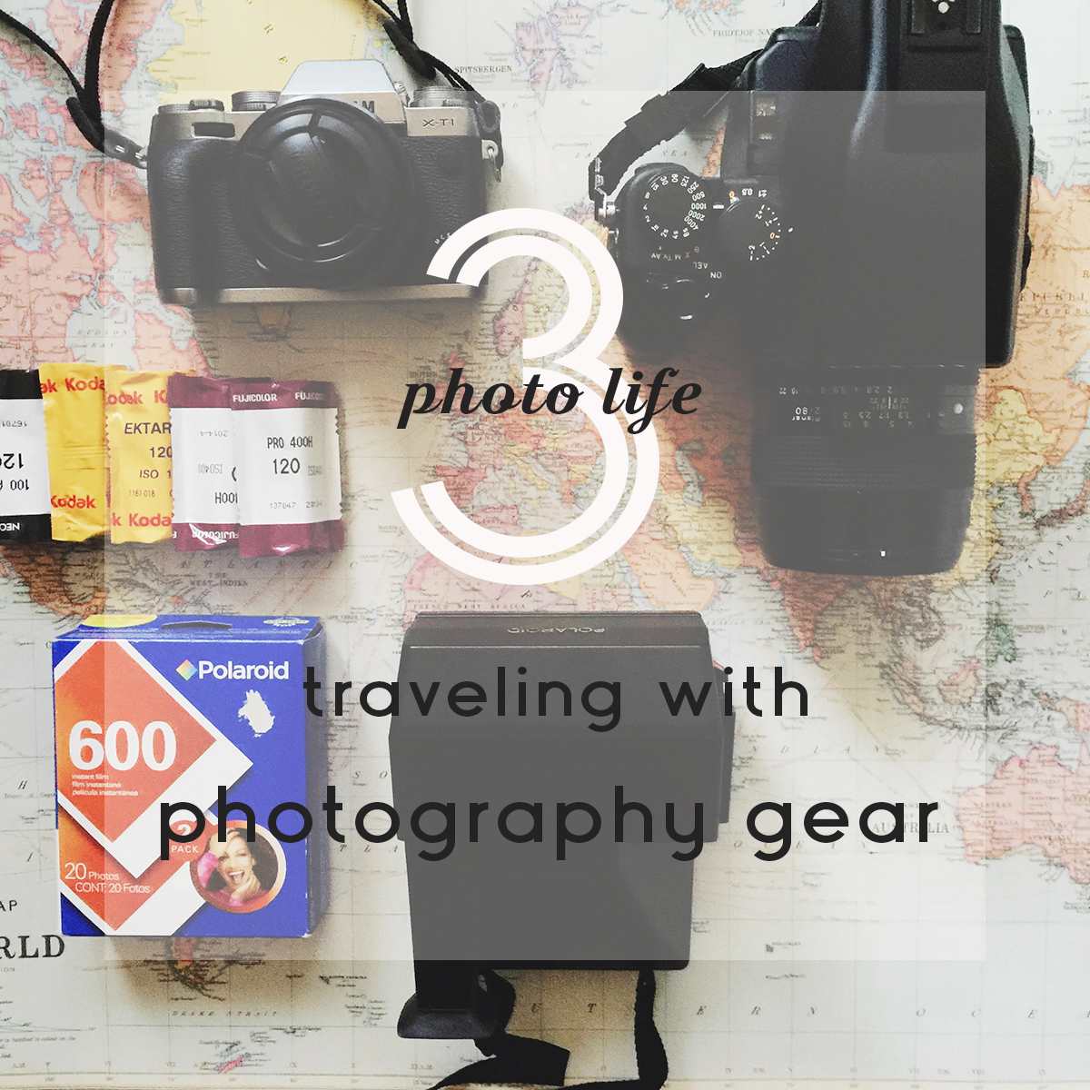 Photo Life 3 - Traveling With Photography Gear | Azzari Jarrett
