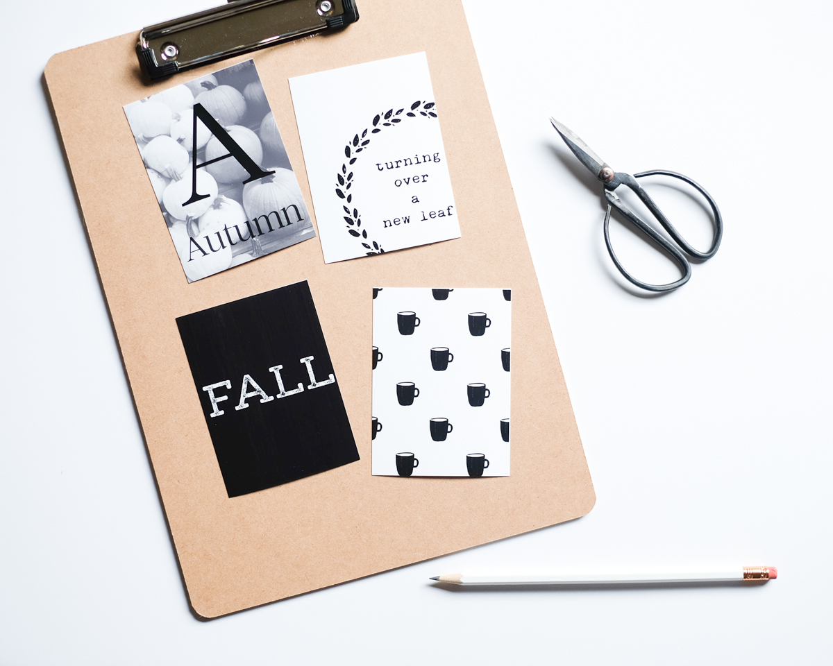 Free Fall Journal Card Printable - Azzari Jarrett