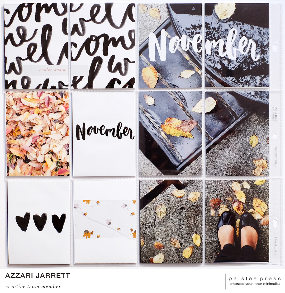 December Layouts with Paislee Press | Azzari Jarrett