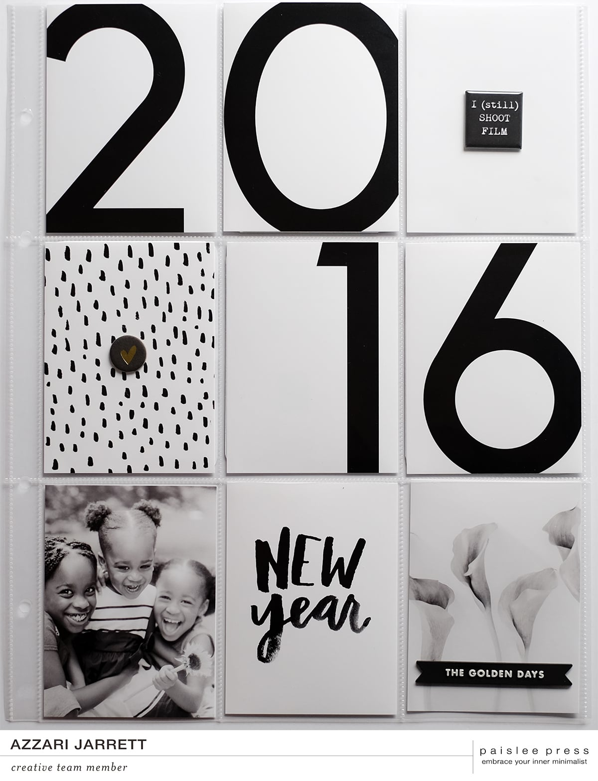 January 2016 Title Page - Azzari Jarrett