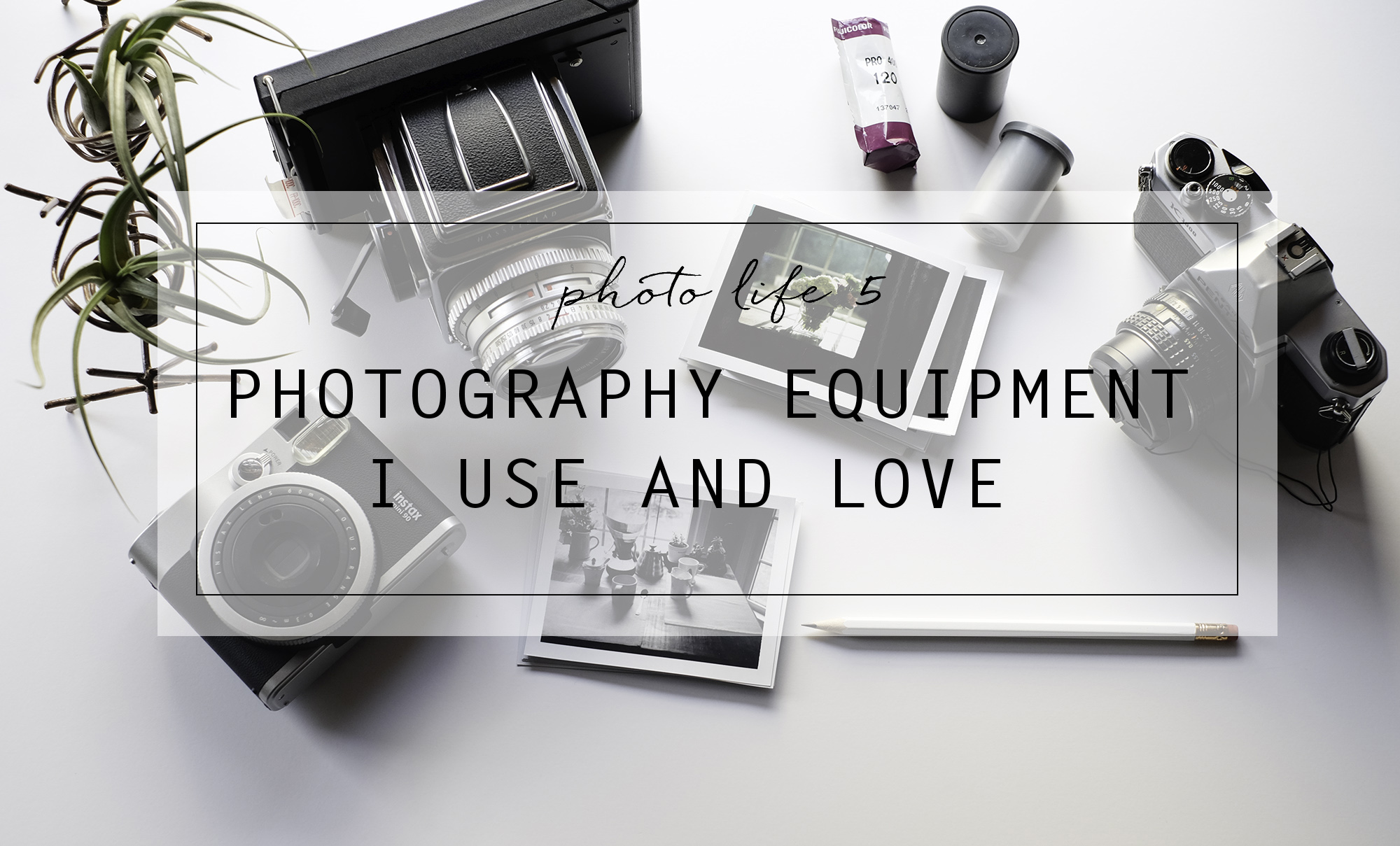 Photo Life 5: Photography Equipment I Use and Love | Azzari Jarrett