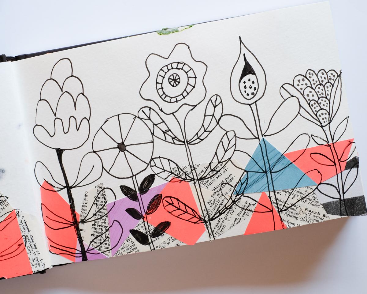 Sketchbook Explorations | Azzari Jarrett