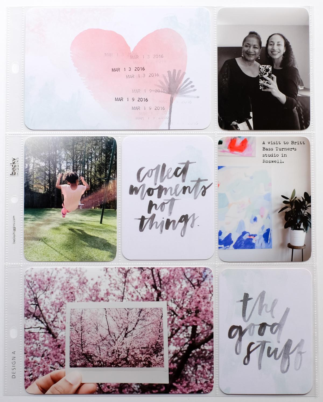 March 2016 Project Life | Azzari Jarrett