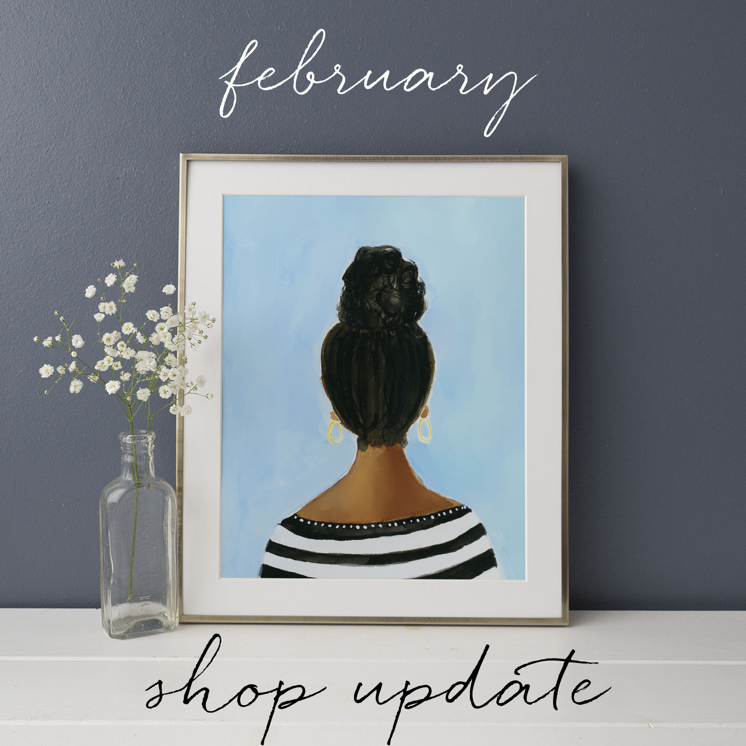 """Everyday"" Gouache Art Print 