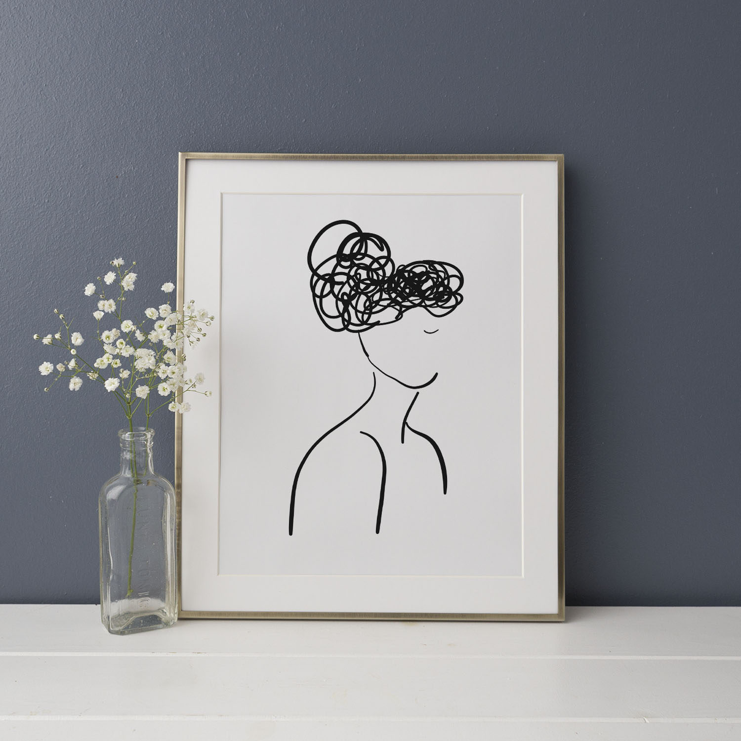 """Her"" Illustration Art Print 