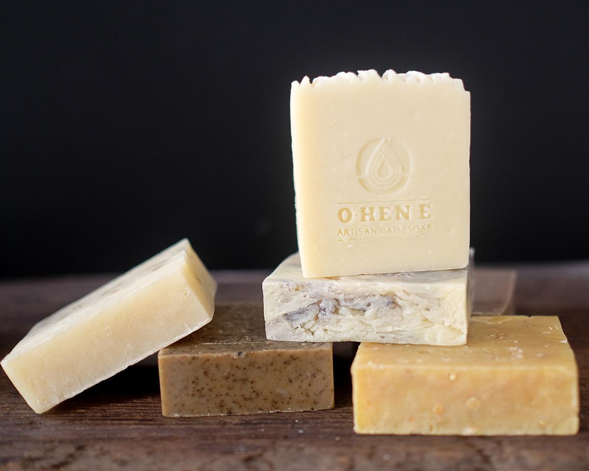 O•HEN•E Artisan Bath Soap