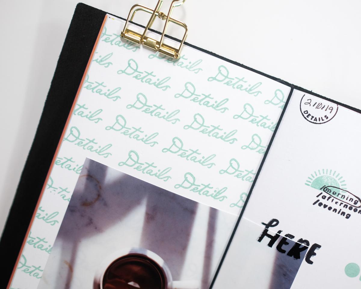 Traveler's Notebook Details Layout by Azzari Jarrett