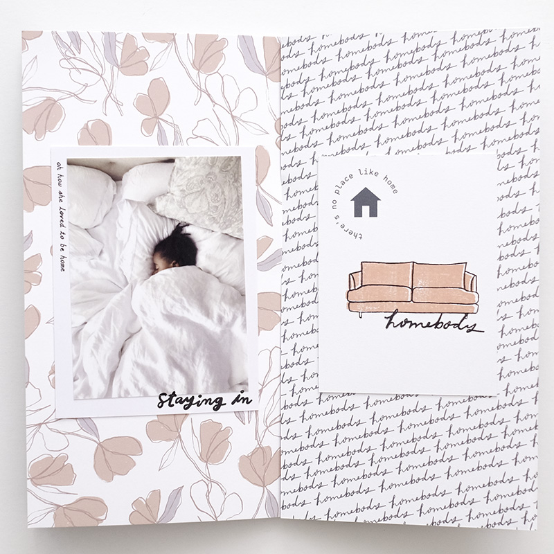 Kelly Purkey Shop | Traveler's Notebook Layout by Azzari Jarrett
