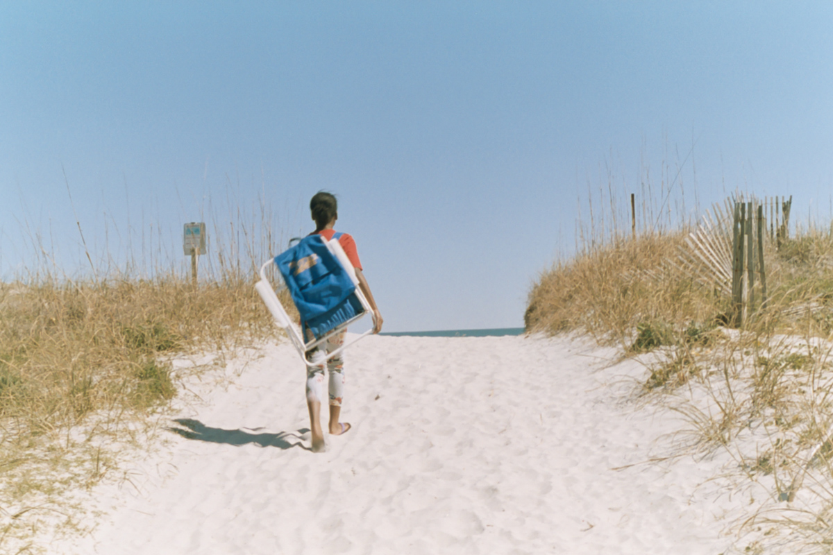 Azzari Jarrett | 35mm film | Beach