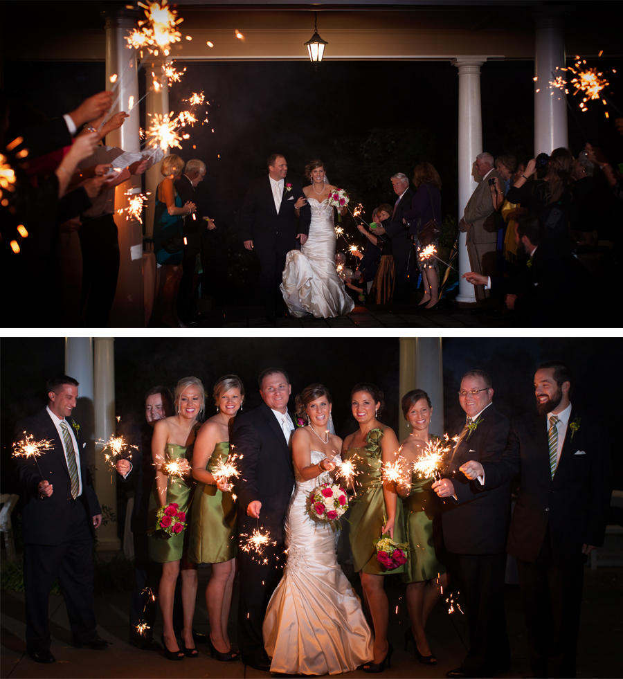 Sparklers just add fun to any wedding.