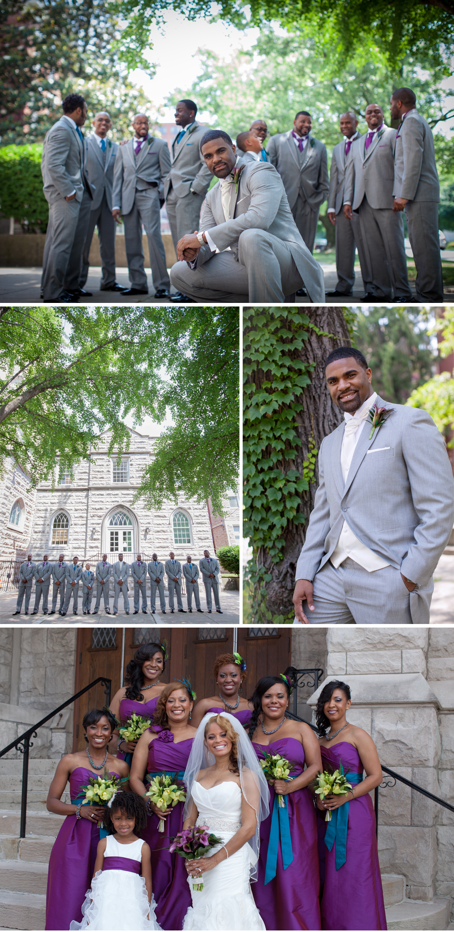 Walnut Street Baptist Church Wedding