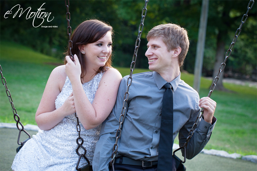 Louisville Engagement Photographs in Cherokee and Seneca Park