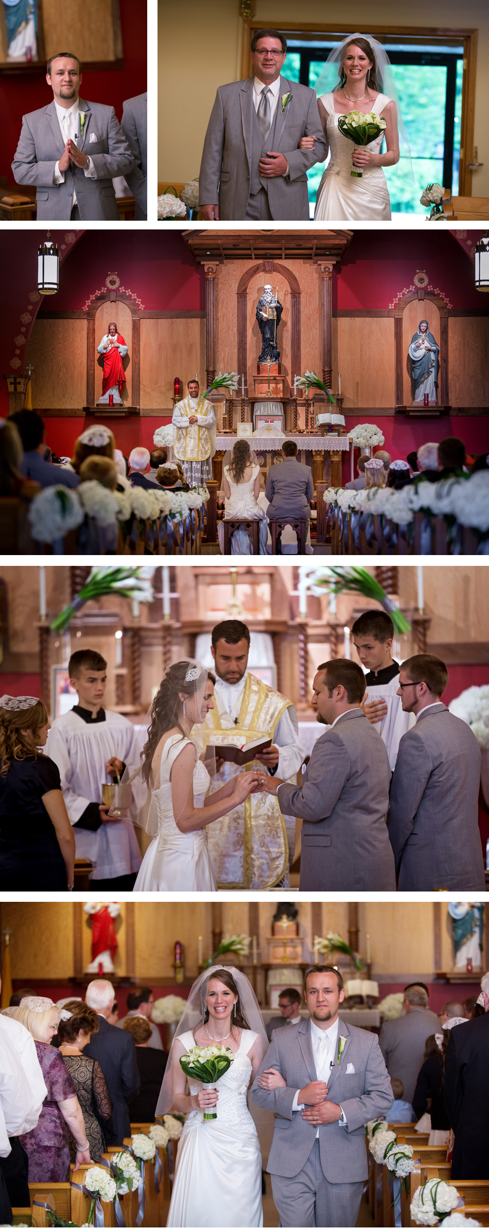 Louisville Latin Catholic Wedding Ceremony