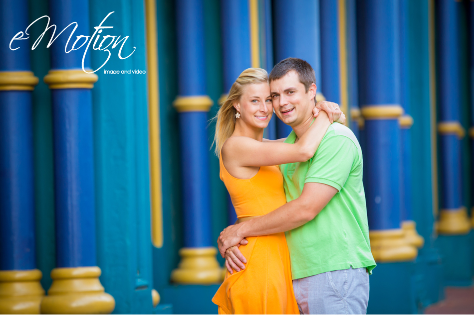 Louisville Downtown Engagement Photos eMotion image
