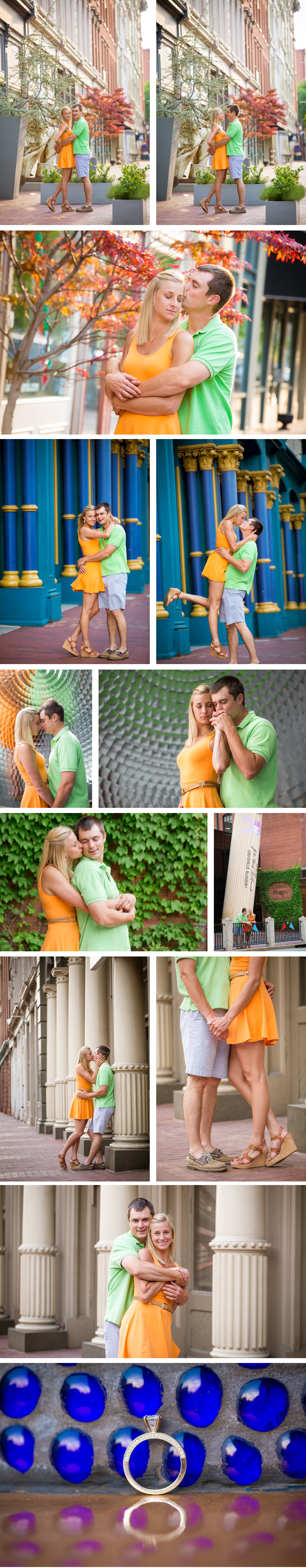 Louisville Downtown Engagement Photos eMotion image and video