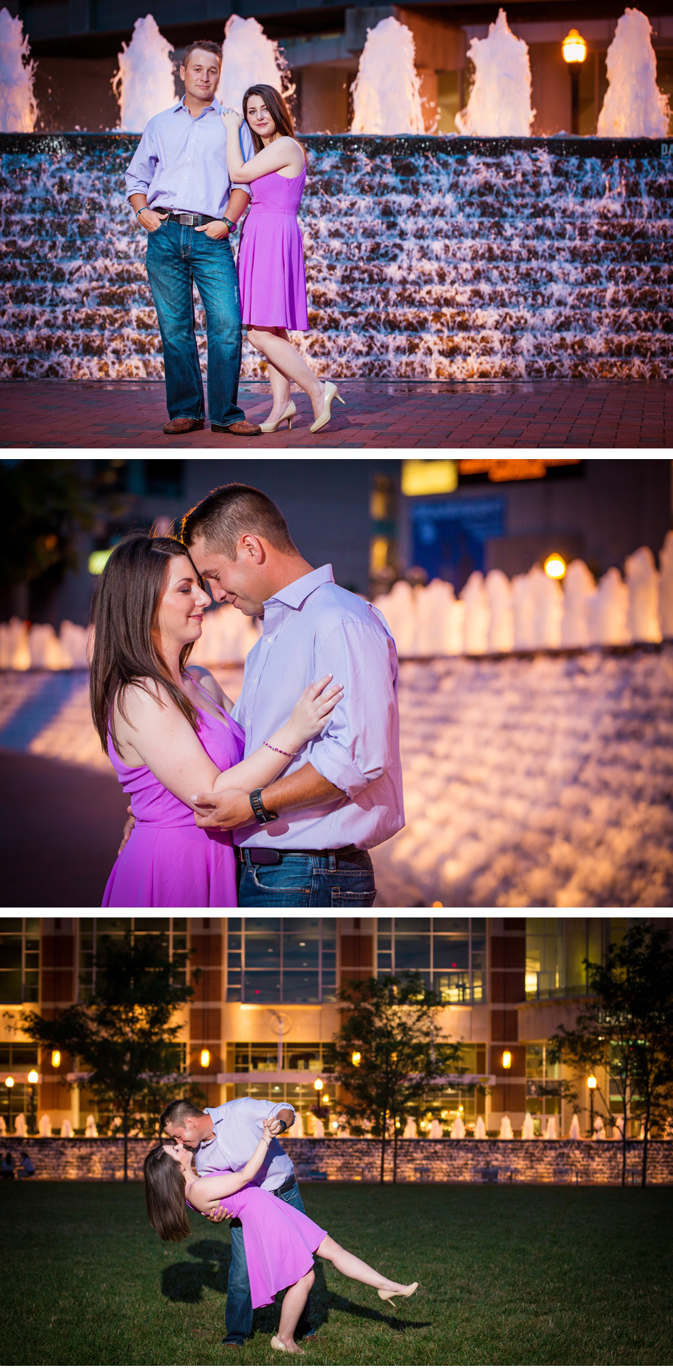 Triangle Park Lexington Engagement Photos