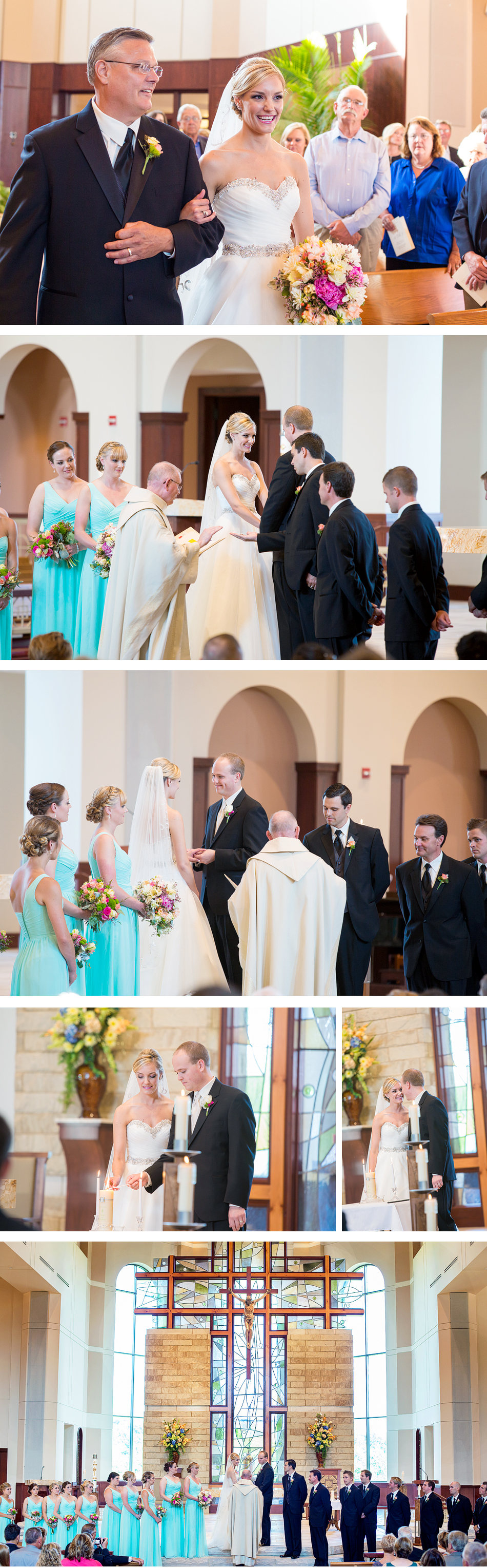 Saint Mary of the Knobs Wedding