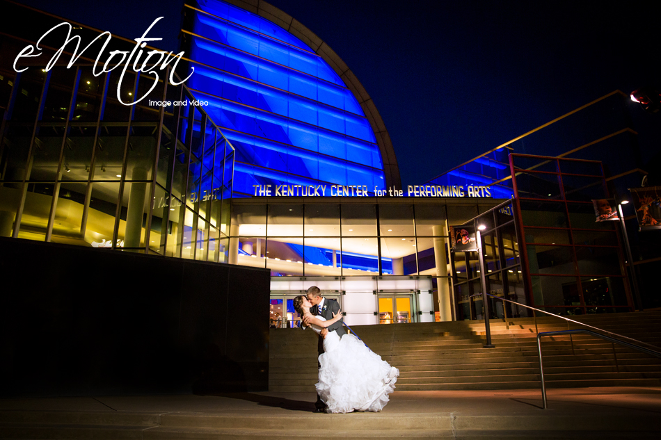 Kentucky Center for the Arts Wedding