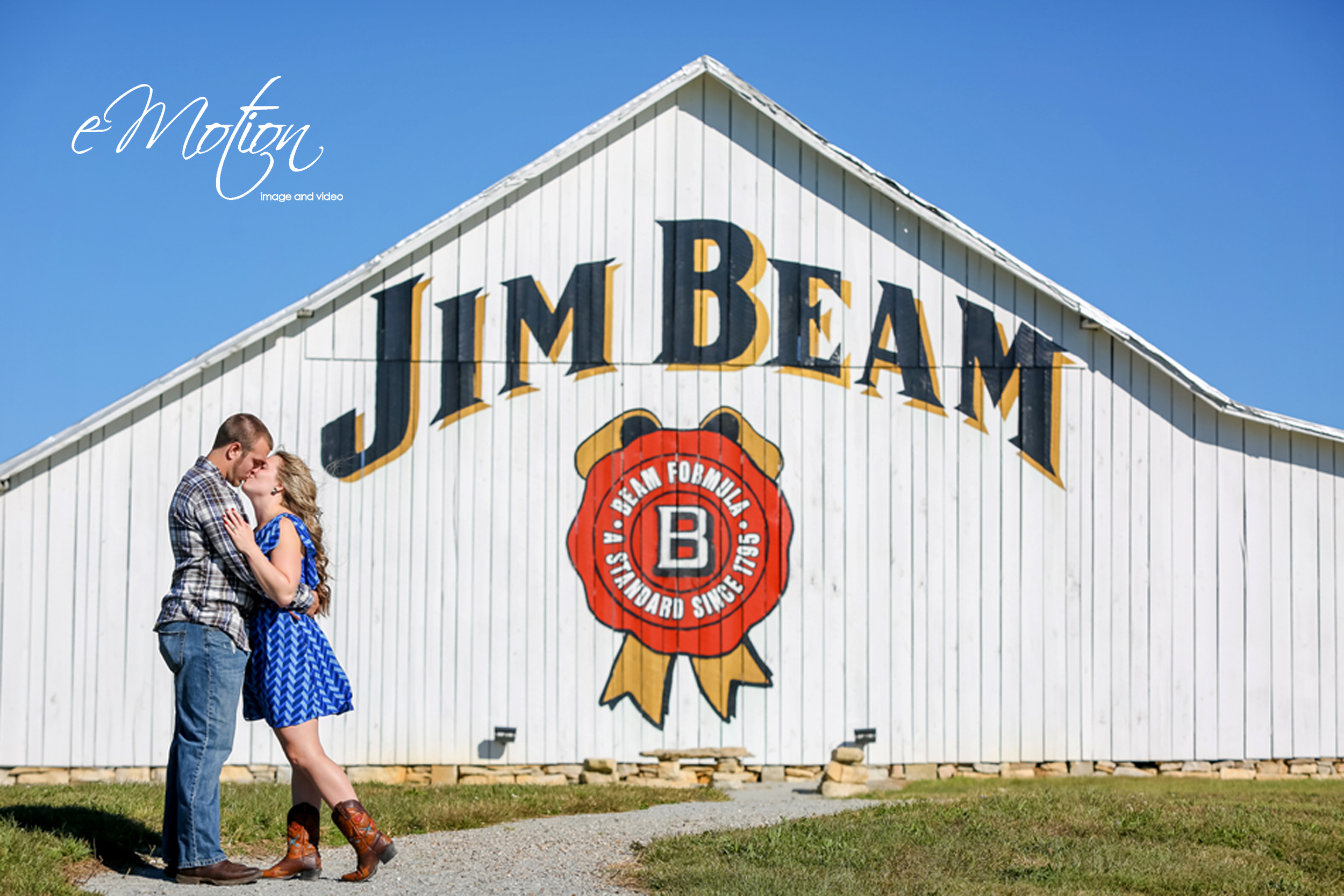 Jim Beam Engagement Photos eMotion image and video