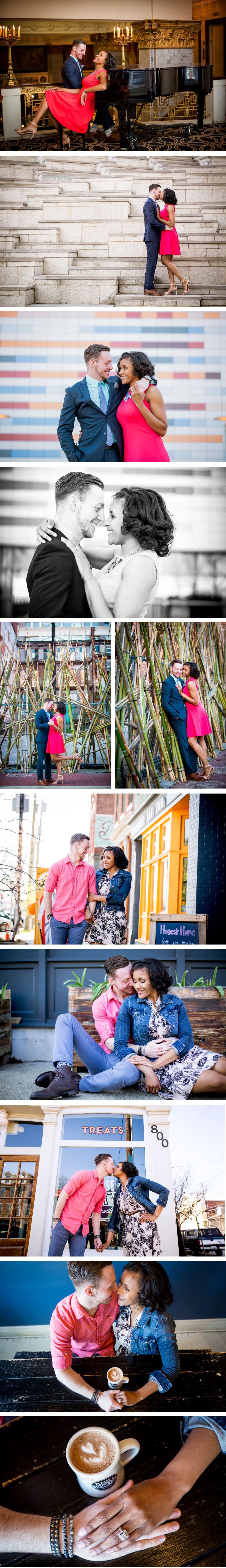 Downtown Louisville Engagement Photos