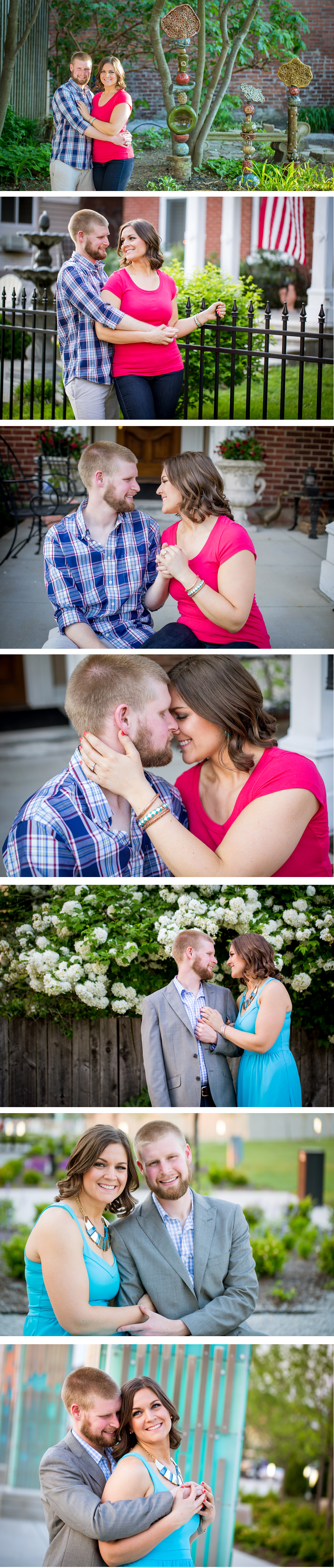 Jeffersonville IN engagement photo eMotion image