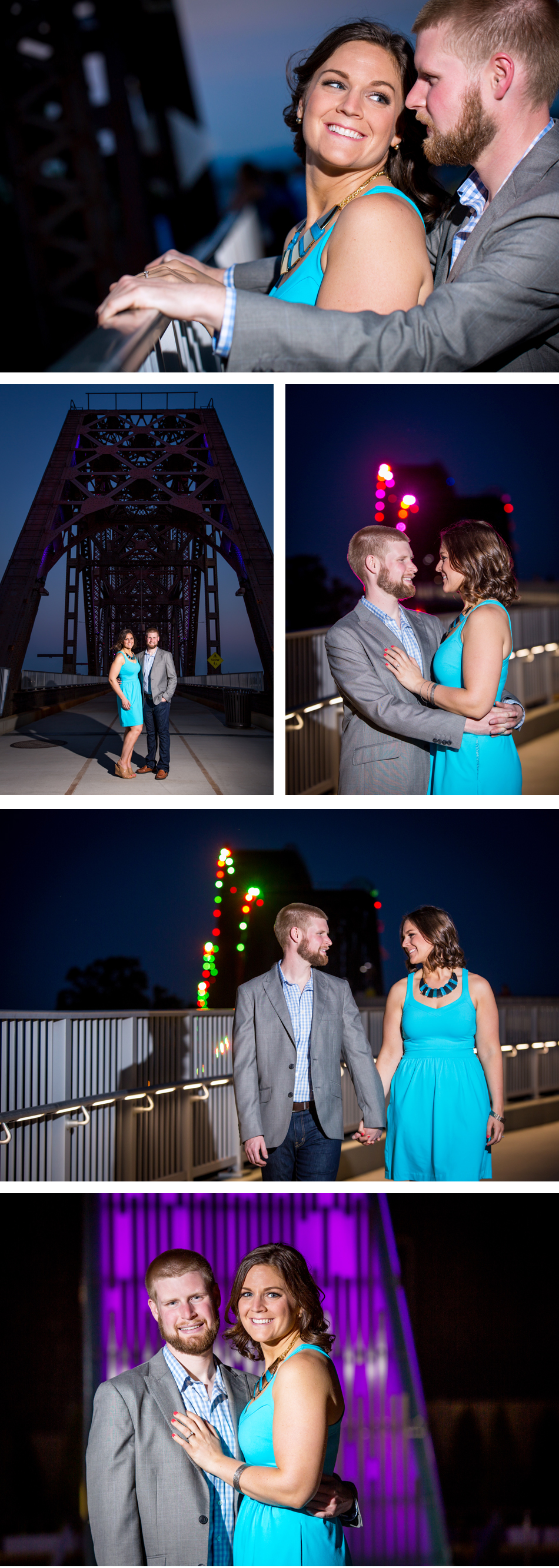 Big Four Bridge Engagement Photos eMotion image