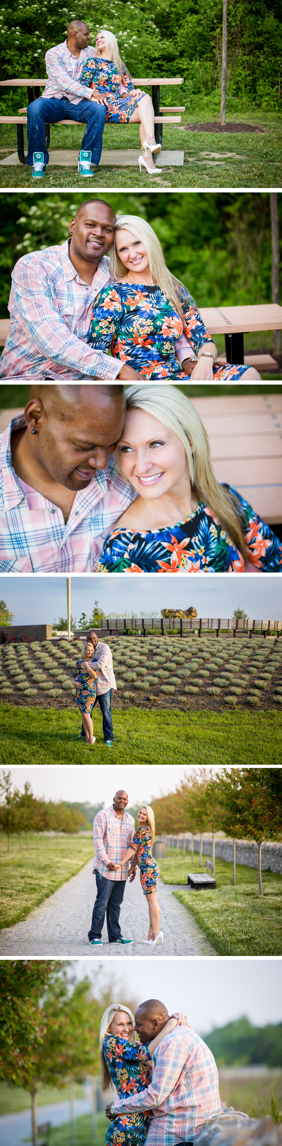The Parkland of Floyds Fork Engagement photos