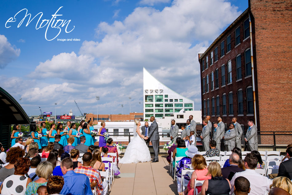 Ice House Rooftop Ceremony
