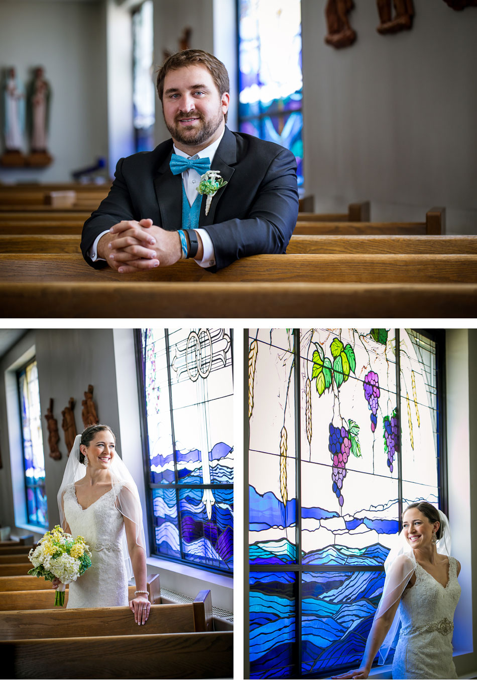The Church of Ascension Bridal Portraits